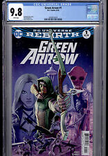 GREEN ARROW  #1 DC COMICS REBIRTH 2016 CGC 9.8