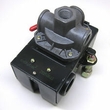Air Compressor Pressure Switch Lefoo LF10-4H 85/115 PSI 4 ports MIN 35 MAX 150