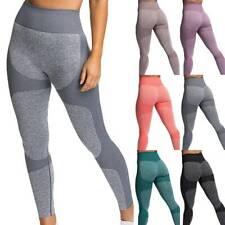 Женские пуш-ап, бесшовная йога леггинсы спортзал сжатия, фитнес, спортивные брюки база