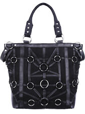 Restyle O-Ring Tote Bag Tas Gothic Occult Rock Alternative