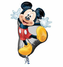 "Disney Mickey Mouse SuperShape Jumbo Birthday Balloon 31"" Party Favor Supplies"