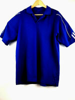Adidas Mens Medium Climalite Blue Golf Shirt Polo Sport Short Sleeve Size M