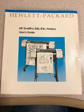 Vintage HP DraftPro DXL/EXL Plotter User's Guide - JULY 1988 Edition