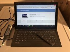 "*Mint* Sony VAIO Duo SVD13213CXB 13.3"" Convertible Touch + Stylus i5 4GB 128GB"