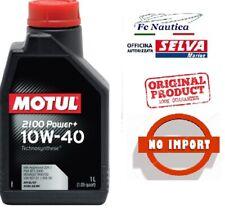 1 lt Motul 2100 Power+ 10w40 Olio Motore Semi-Sintetico TECHNOSYNTHESE API SL