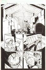 Marvel Adventures Spider-Man #6 p.12 - Webshooters - 2005 by Patrick Scherberger Comic Art