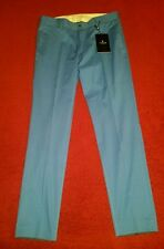 $200.00 Tiger Of Sweden Sky Blue Herris Slim Cropped  Pants  Men's Size 30 IT 46