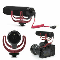 Rode Videomic GO On Camera Rycote Lyre Shoe Mount Microphone For Canon Nikon BUS