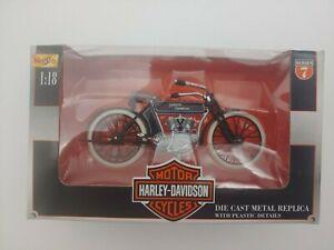 Maisto Series 7 1:18 Harley Davidson 1909 Twin 5D V-Twin