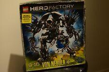 LEGO Hero Factory Von Nebula 7145 RARE RETIRED BRAND NEW SEALED ACTUAL TOY PHOTO