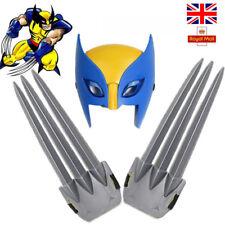 Wolverine claws X-men Hero Cosplay luminous LED Mask Logan Claws Kids cloak Toys