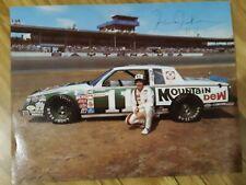 Junior Johnson AUTOGRAPHED SIGNED Mountain Dew NASCAR