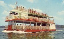 The triple-deck LARRY DON CRUISE BOAT Casino Boat Dock, LAKE OZARK, MO 1968