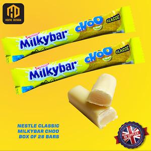 *NEW* Nestle Classic Milkybar Choo FULL BOX x28 Bars  Fresh Stock