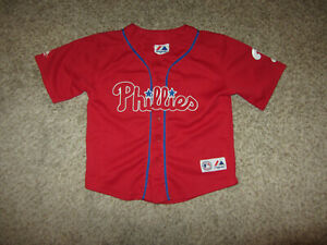 Cliff Lee MLB Baseball Jersey Youth Kid Toddler Majestic Philadelphia Phillies 7