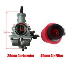 Mikuni VM26 Carburetor + 45MM Air Filter red foam For Honda 200 250cc Dirt Bike
