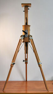 Original Soviet Wooden FKD Large Format Camera Tripod! Good Condition! AS IS!