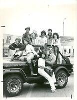 JUDY LANDERS TONY DANZA BERT PARKS FAST LANE BLUES ORIGINAL 1978 CBS TV PHOTO