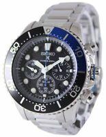 Seiko Solar Chronograph Divers SSC017 SSC017P1 SSC017P Men's Watch