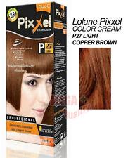 Lolane Pixxel Hair Permanent Dye Color Colour Cream P27: light copper brown