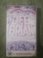 Monty Pythons Life Of Brian. Vhs Tape Rare. Small Case Vintage Comedy