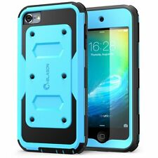 iPod Touch 6 Generation Case Heave Duty i-Blason Apple Fullbody Cover Blue