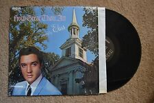 Elvis How Great Thou Art shrink Rock Record lp NM