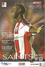 Football Programme - Southampton v QPR - Premiership - 30/9/2006