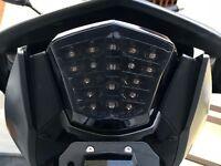 LED Rücklicht Heckleuchte schwarz Yamaha XJ 6 auch Diversion F smoked tail light