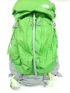 THE NORTH FACE Banchee 50 Luc Nylon Green Fashion Back Pack 5523 From Japan