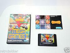 MEGA GAMES I sega megadrive PAL Complete in box with manual videogame