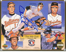 Brooks Robinson Auto 1992 Upper Deck Ltd Ed # 'd The 200 Club Signed COA HOF
