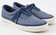 Vans WTAPS OG Era LX Anaconda Blue UK 4.5 Skate Shoes Snakeskin Pattern