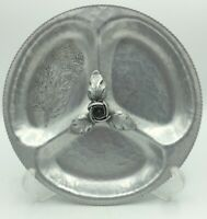 Relish Dish Silverlook Hand Wrought Continental Mark #729 Vintage