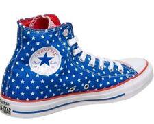Converse Chuck Taylor All Star Bandera Americana Hi Zapatillas Talla 4.5 Nuevo Y En Caja Azul Rojo
