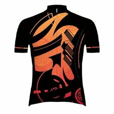 Primal Sunset Cityscape Men's Full Zip Evo 2.0 Slim Fit Racing Cycling Jersey