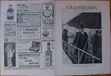 """L'ILLUSTRATION 3317 DU 22/9/1906 FALLIERES A MARSEILLE HUMBERT PAPE """"NOIR"""" SPONT"""