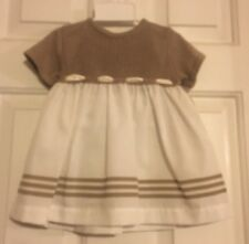 Boutique Collection by Imagewear Girls Dress Brown Beige 6 Months Style#5248