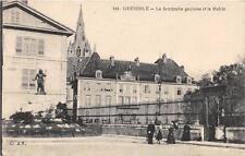 CPA 38 GRENOBLE LA SENTINELLE GAULOISE MAIRIE
