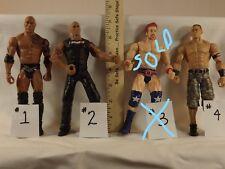 WWE wrestlers ROCK, JOHN CENA, REY MYSTERIO, MIZ, jericho,KOFI, R-TRUTH