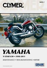 CLYMER REPAIR MANUAL Fits: Yamaha XVS650 V Star Custom,XVS650A V Star Classic,XV
