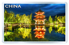 CHINESE PAGODA CHINA FRIDGE MAGNET SOUVENIR IMAN NEVERA
