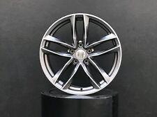 "18x8"" inch 5x112 45 Wheels Rims Gunmetal For VW Volkswagen Tiguan Bettle Phaeton"