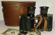 Vintage Carl Zeiss Jena SILVAMAR binoculars 6 x 30 German S/N 1413629