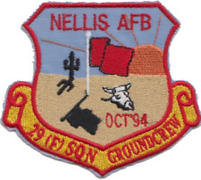 US Air Force Base Nellis Nevada 29 Squadron Embroidered Patch ** LAST FEW **