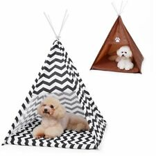Kennel Tent Cat Dog Puppys Kitten Play House Sleeping Bed Pad Cage Cozy House