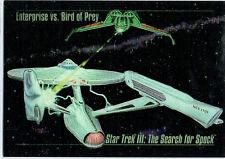 STAR TREK MASTER SERIES SPECTRA FOIL CARD S-4