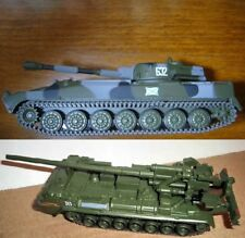 1/72 2S1 Gvozdika or 2S7 Pion Soviet self-propelled gun model die cast 32 or 55