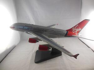 Bravo Delta Models no 140 Virgin Atlantic Airbus 380 - 900 flight mode 1:170 Sca