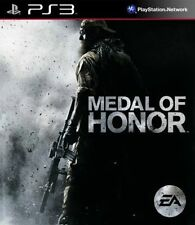 Medal of Honor Sony PlayStation 3 Ps3 Disc and Manual Only